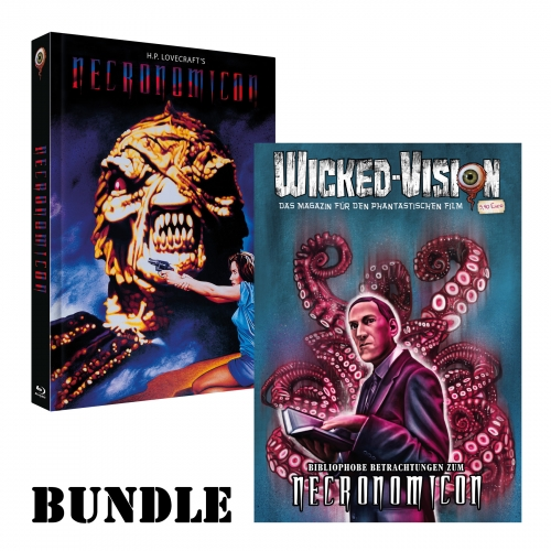 BUNDLE: Necronomicon (Mediabook, Cover A) + Wicked-Magazin: Necronomicon