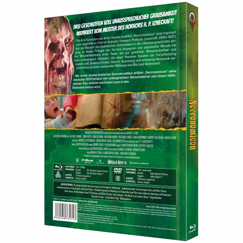 H.P. Lovecraft's Necronomicon (3-Disc Limited Collector's Edition Nr. 31) [Cover C, Limitiert auf 333 Stück)
