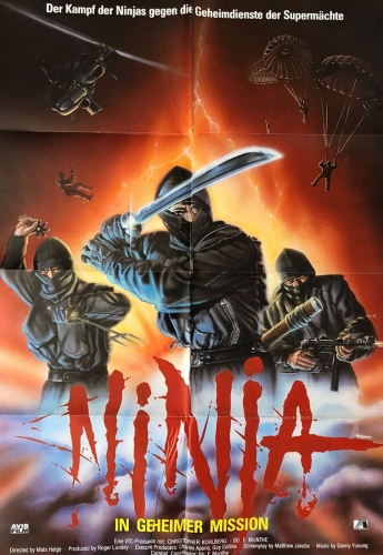 Ninja - In geheimer Mission [Deutsches Kinoplakat]