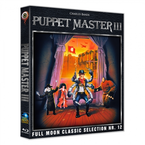 Puppet Master Collection (All 11 Movies on 9 Blu-rays  incl. matt hard slipcase)