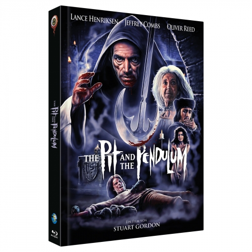 The Pit and the Pendulum (Full Moon Collection No. 5) [Cover B, Limited to 444 units] incl. Soundtrack-CD