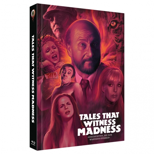 Tales that Witness Madness (2-Disc Limited Collector's Edition No. 34) [Mediabook, Cover B, Limited to 333 Units)