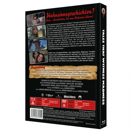 Tales that Witness Madness (2-Disc Limited Collector's Edition No. 34) [Mediabook, Cover C, Limited to 333 Units)