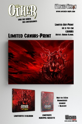 BUNDLE 4: The Other und die Erben des Untergangs [Limited Ecolbook Edition + Hörspielkassette + Bleistift + Canvas-Print]