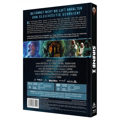 The Rift (2-Disc Limited Collector's Edition Nr. 38) [Mediabook, Cover C, Limited to 333 units]
