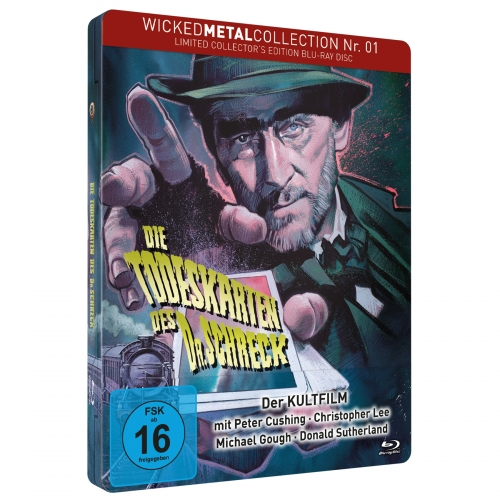 Die Todeskarten des Dr. Schreck (Wicked Metal Collection Nr. 1) [Limited FuturePak Edition]