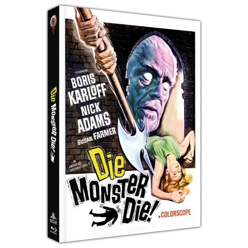 Die Monster Die (2-Disc Collector's Edition No. 19) [Cover C]