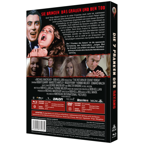 The Return of Count Yorga (2-Disc Collector's Edition No. 14) [Cover B]