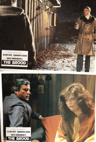 The Brood [C2 UK Lobby Cards]