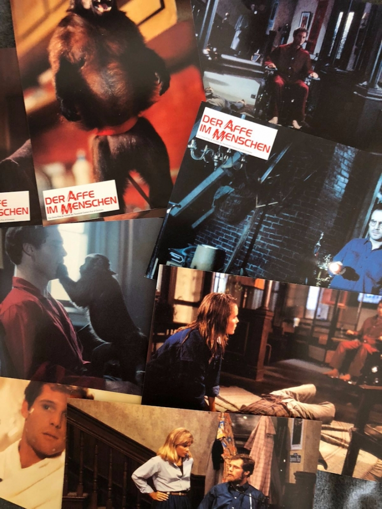 Monkey Shines [8 German Lobby Cards]