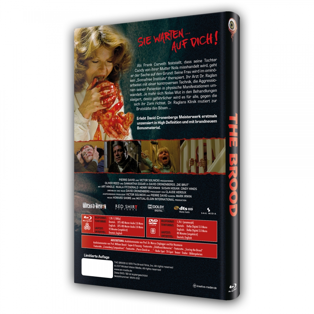 Die Brut (2-Disc Silver Ferox Edition) [Hartbox]