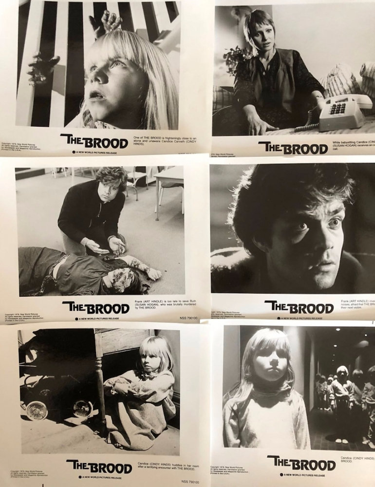 The Brood [6 US Lobby Cards]