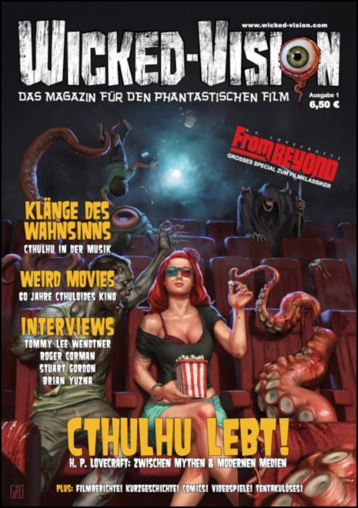 Wicked-Vision Magazine No. 1 - Cthulhu lives!