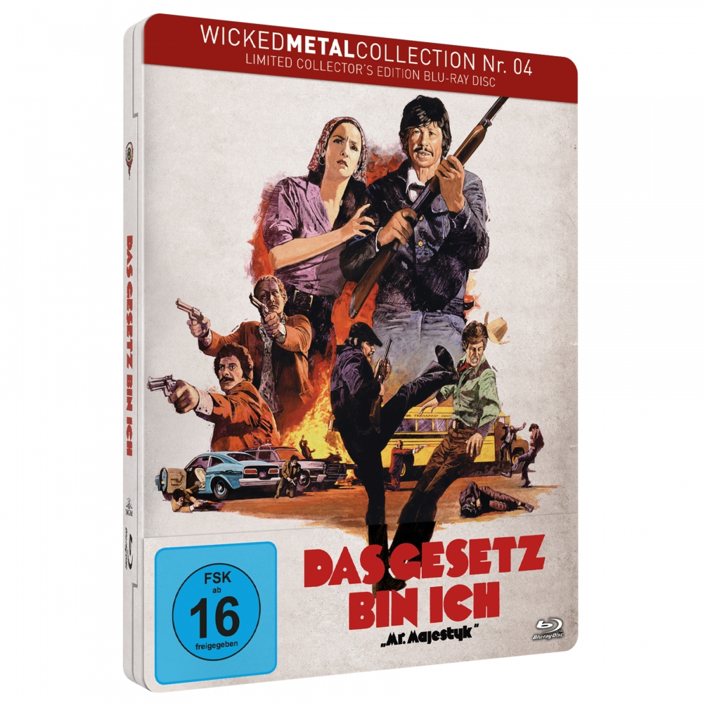 Das Gesetz bin ich (Wicked Metal Collection Nr. 4) [Limited FuturePak Edition]