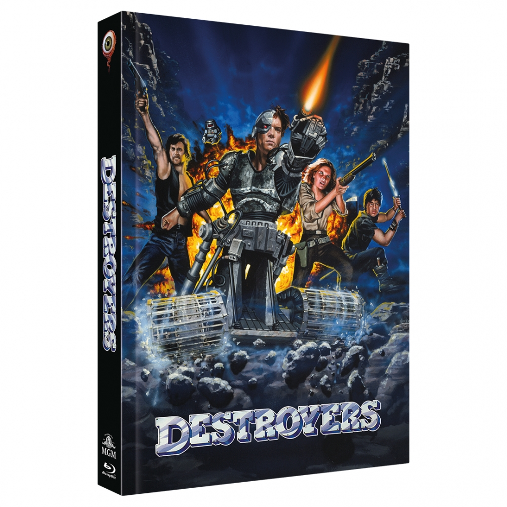 Eliminators (2-Disc Limited Collector's Edition No. 36) [Mediabook, Cover A, Limited to 444 units)