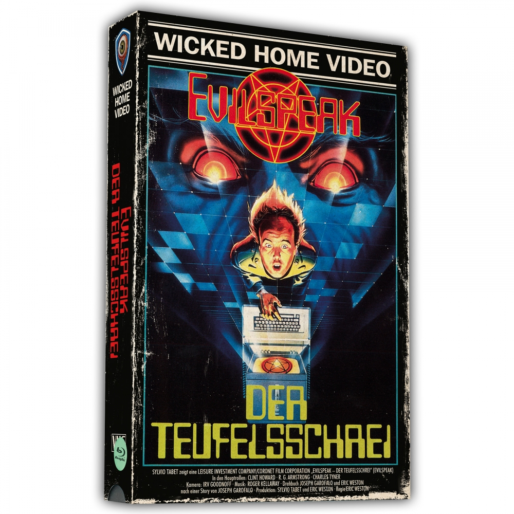 Evilspeak (2-Disc VHS-Retro-Edition, Limited to 500 units)