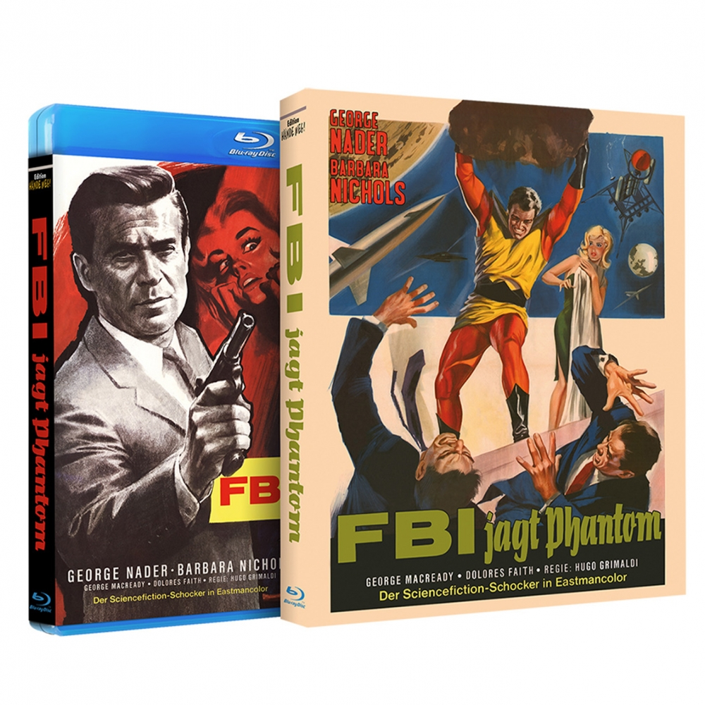 he Human Duplicators (Fantastic rarities No. 1) [Blu-ray, KeepCase with O-Card]