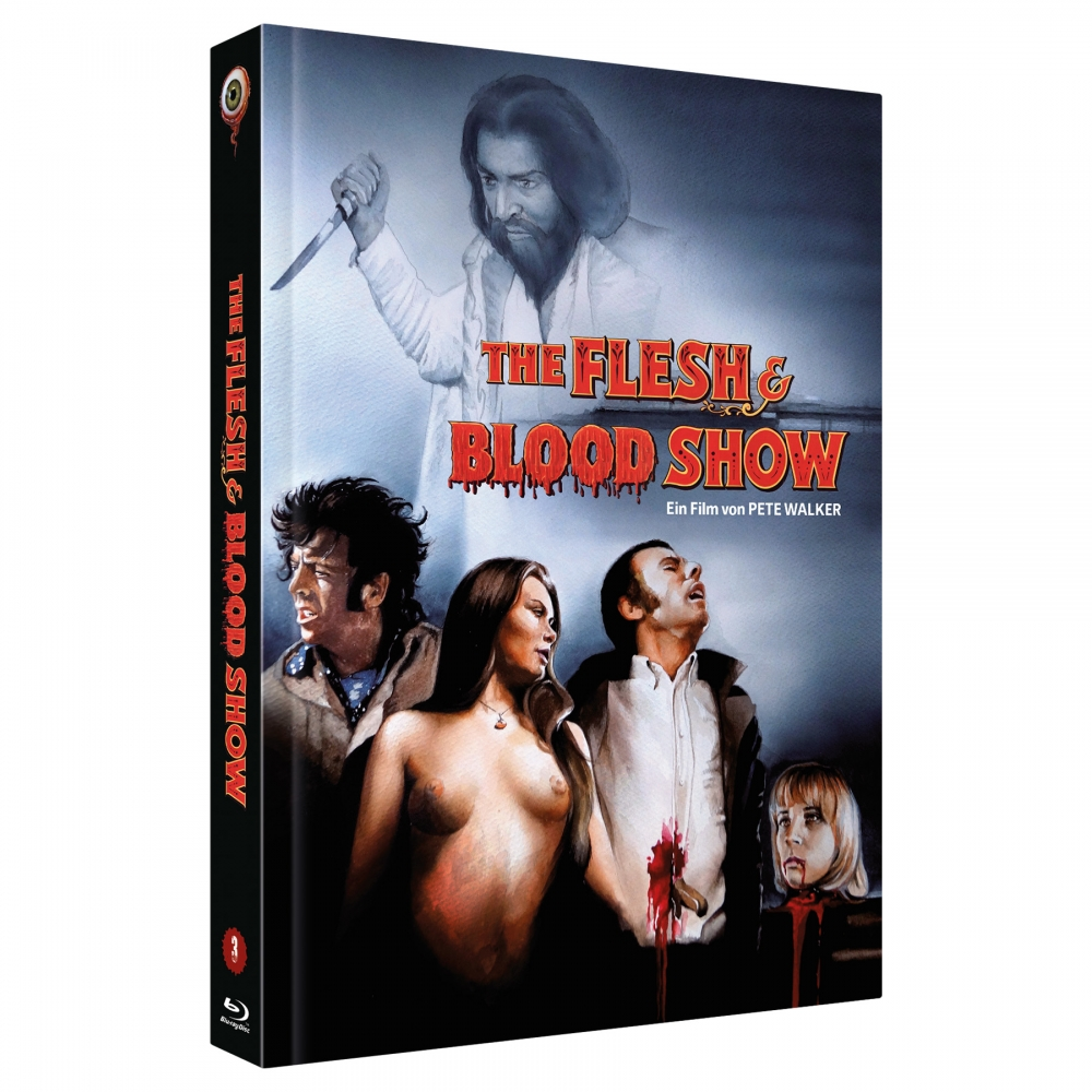 The Flesh and Blood Show (Pete Walker Collecton  No. 3) [2-Disc Uncut 222 Edition, Cover C]