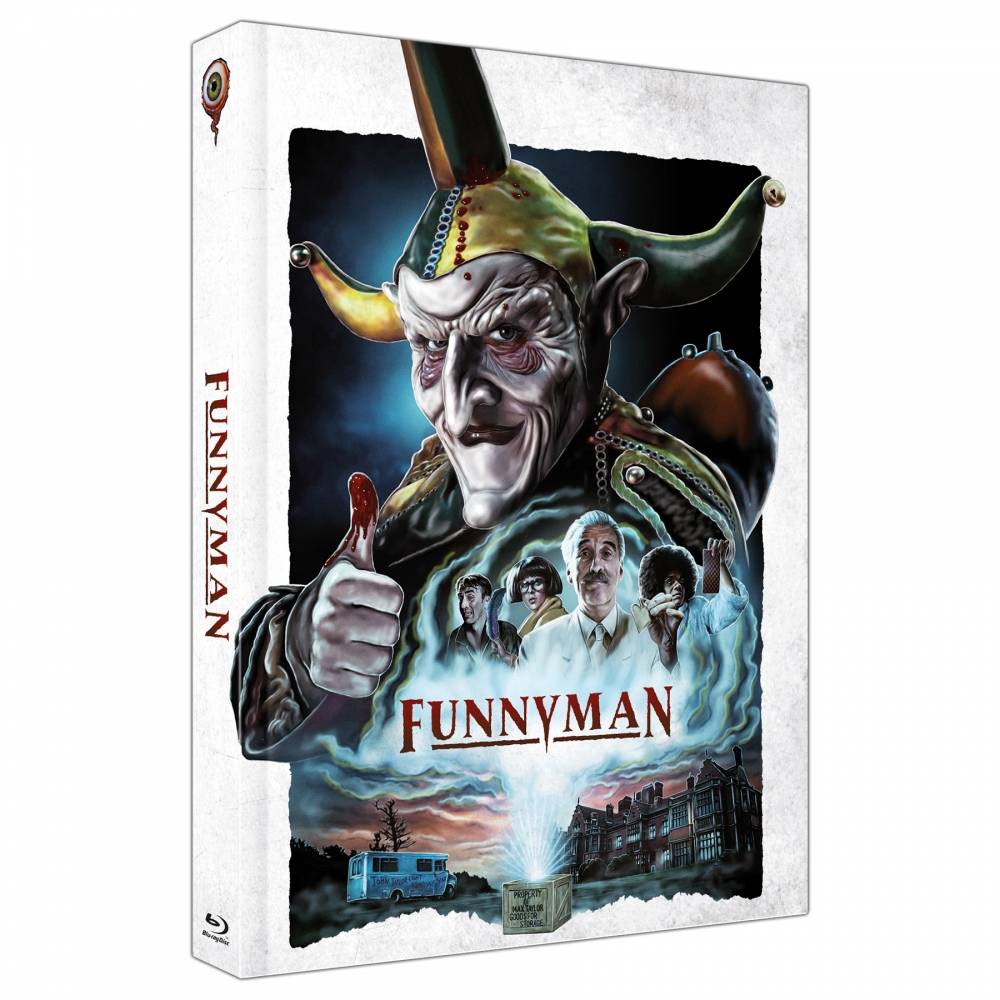 Funnyman (4-Disc Limited Collector's Edition Nr. 33) [Mediabook - Cover A, Limited to 444 units)