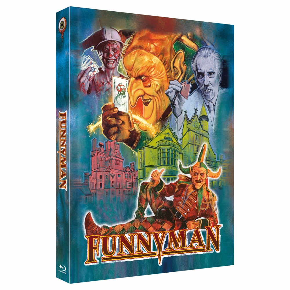 Funnyman (4-Disc Limited Collector's Edition Nr. 33) [Mediabook - Cover B, Limited to 333 units)