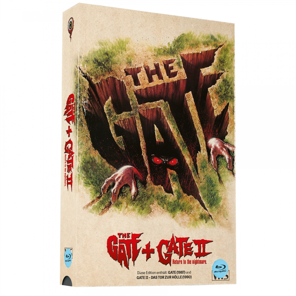Gate 1 & 2 (Double Feature) [2-Disc-Set, VHS-Retro-Edition, Cover A, Limited to 500 units]