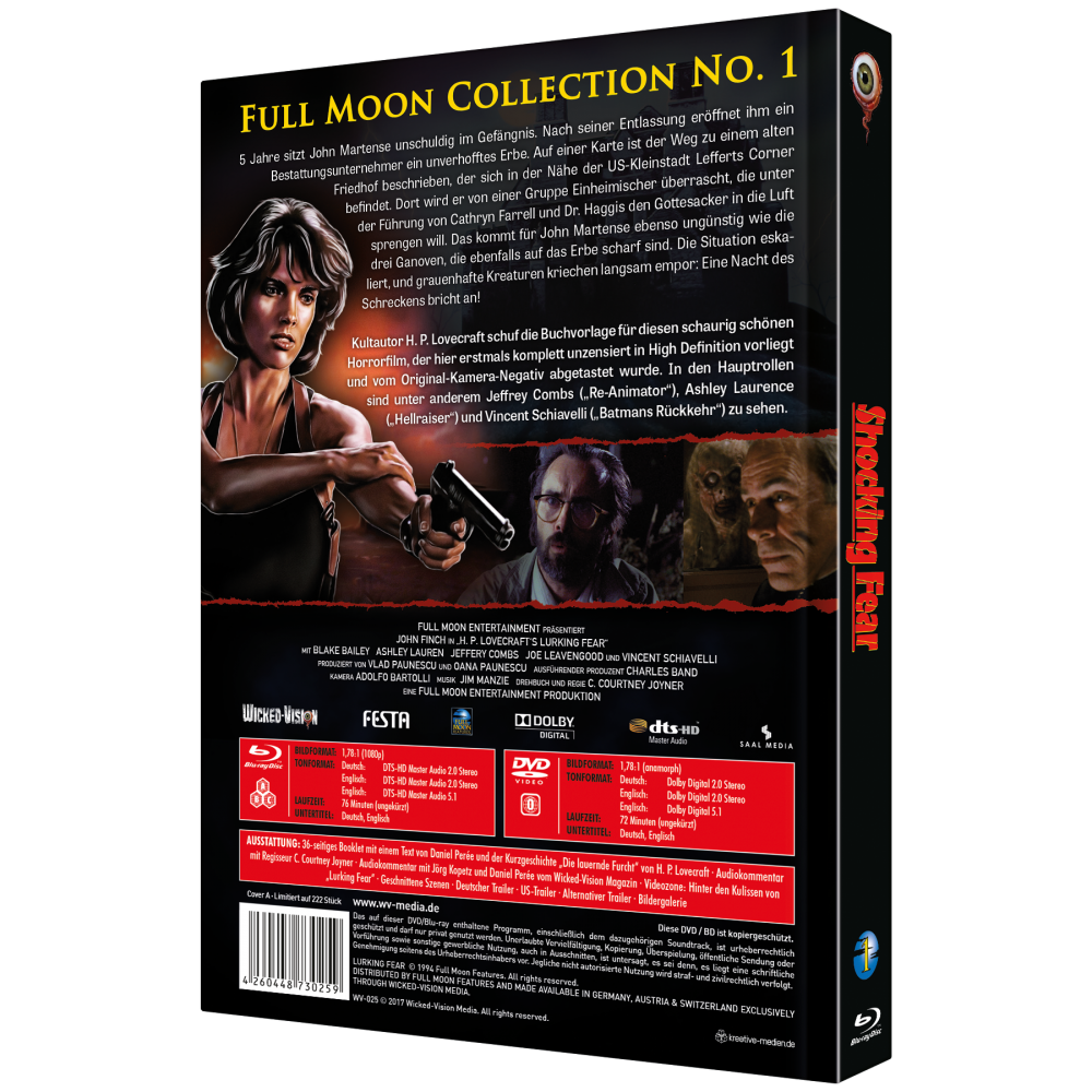 Shocking Fear / Lurking Fear (Full Moon Collection Nr. 1, 2-Disc Mediabook) [Cover A]