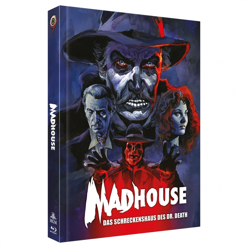 Madhouse (2-Disc Limited Collector's Edition No. 40) [Mediabook, Cover C, Limited to 444 units]