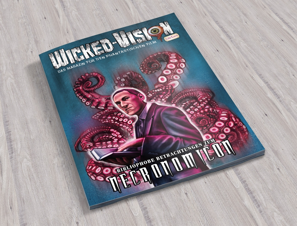 Wicked-Vision Magazin Special Issues: Bibliophobe Betrachtungen zum Necronomicon