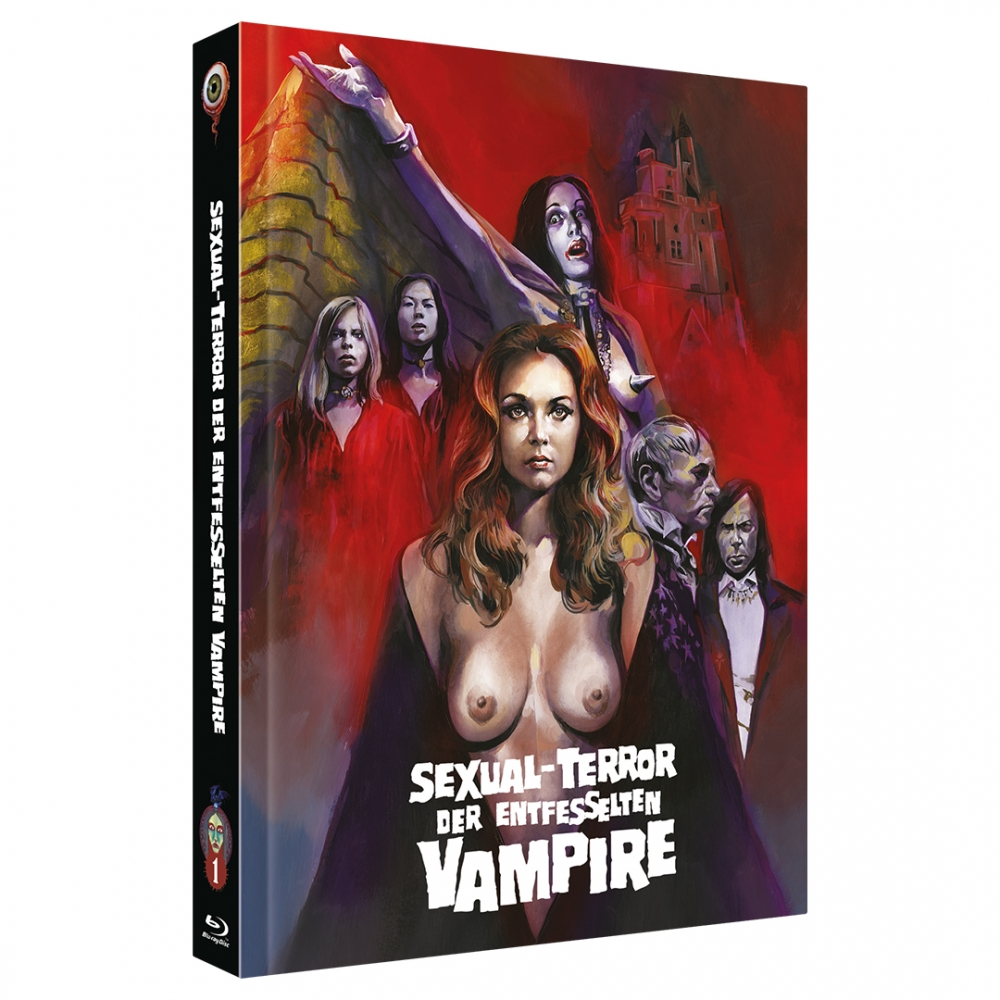 Shiver of the Vampires (Jean Rollin Collection No. 1) [2-Disc Mediabook-Edition, Cover C]