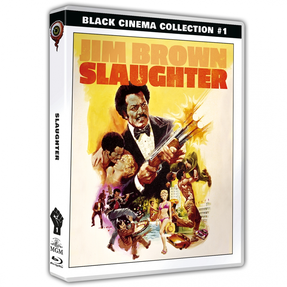 Slaughter (Black Cinema Collection #01) inkl. Sammelschuber [Dual-Disc-Set]