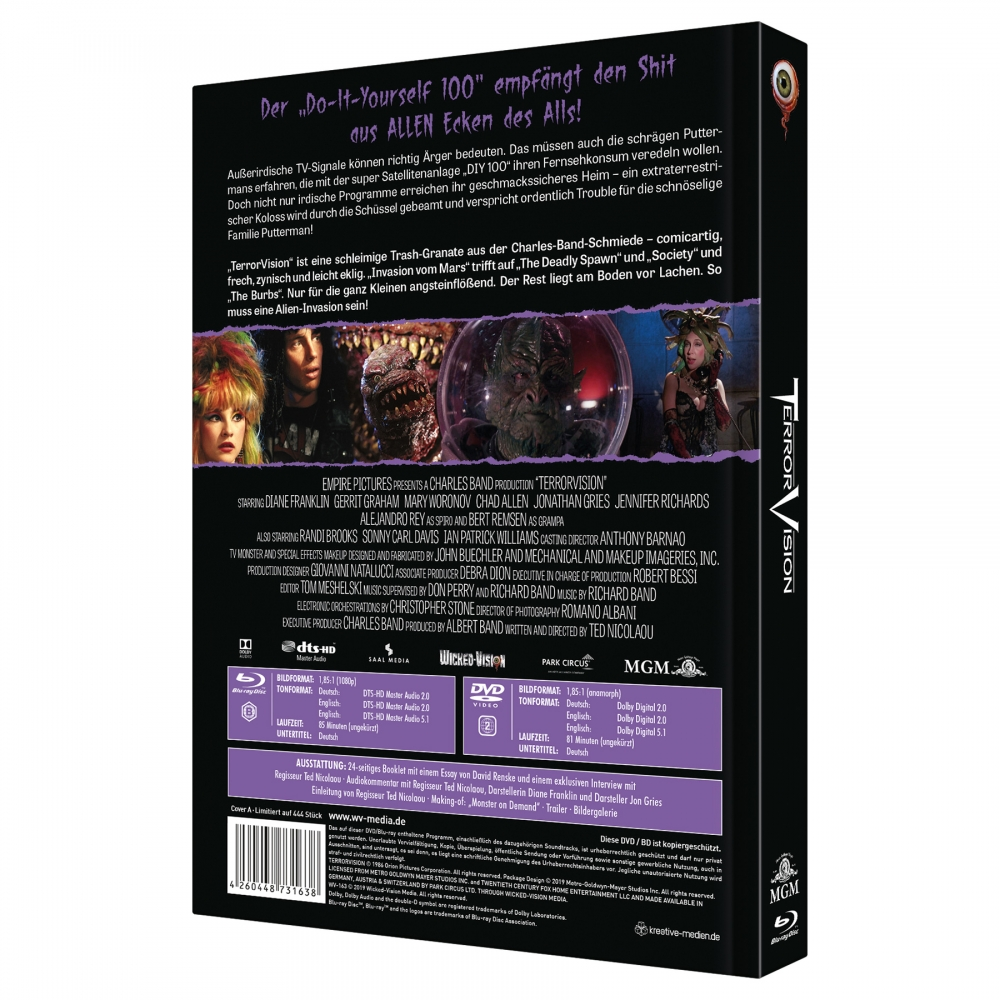 TerrorVision (2-Disc Limited Collector's Edition No. 29) [Cover A, Limited to 444 Units)