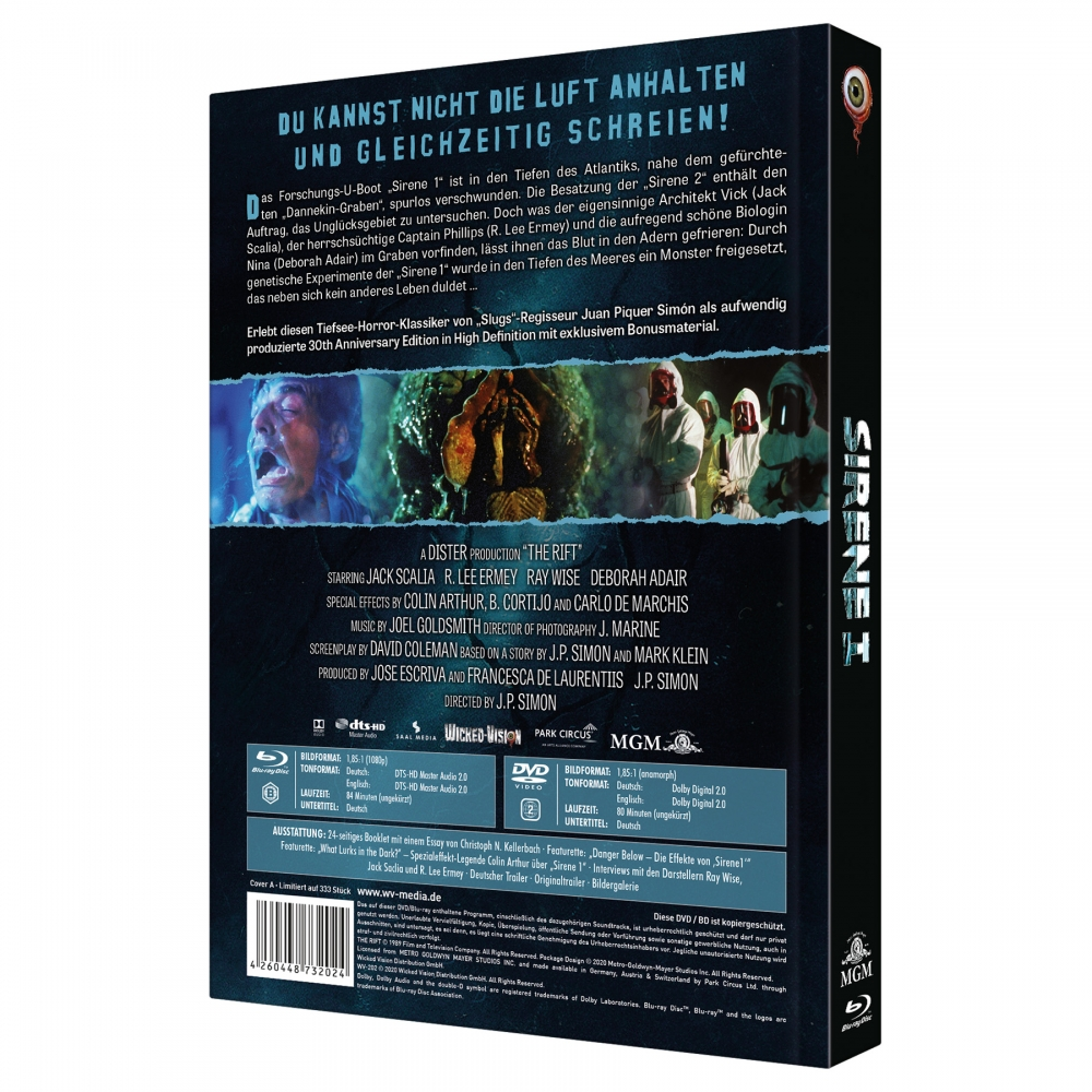 The Rift (2-Disc Limited Collector's Edition Nr. 38) [Mediabook, Cover A, Limited to 333 units]