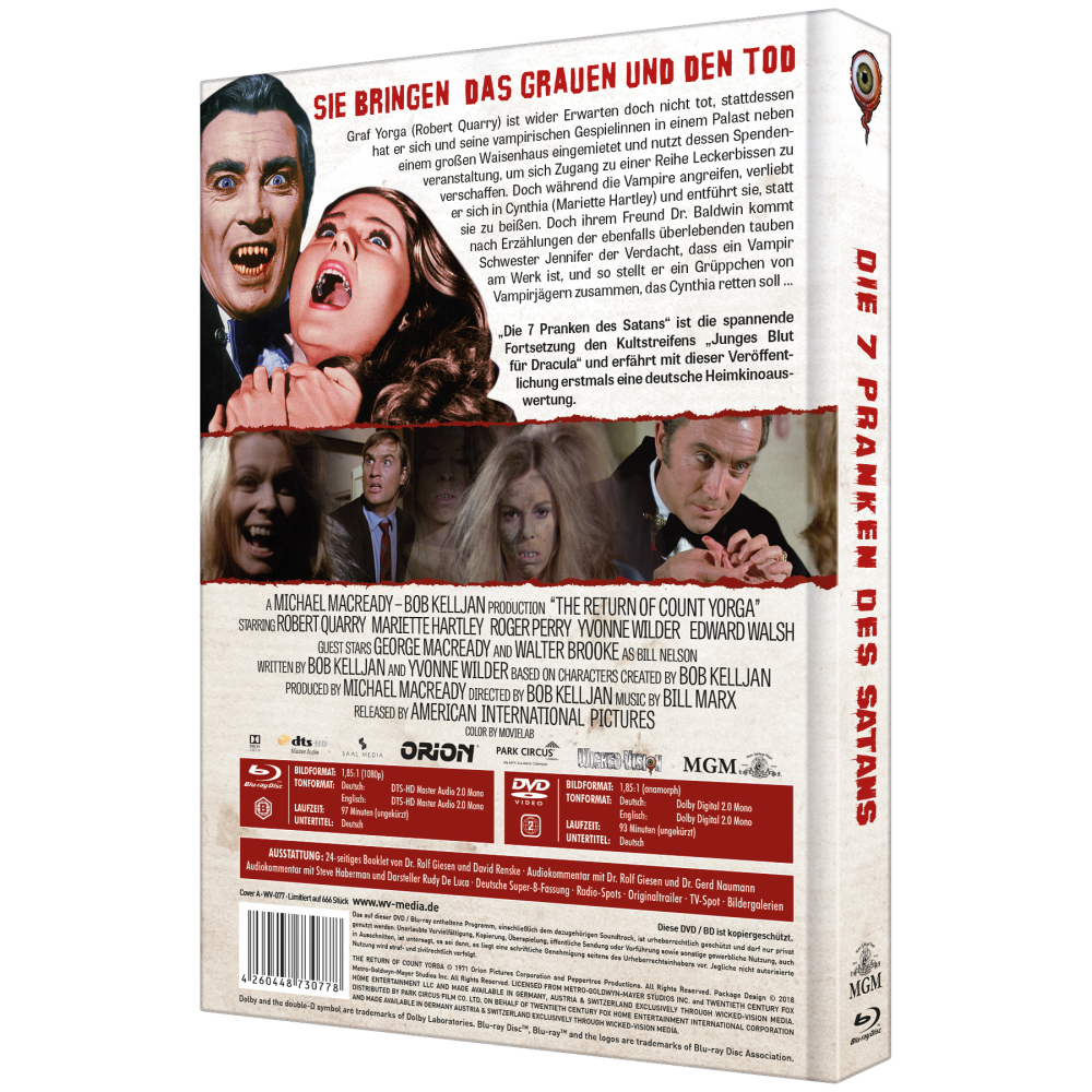 7 Pranken des Satans (2-Disc Collector's Edition Nr. 14) [Cover A]