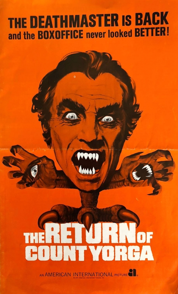 The Return of Count Yorga [US-Presseheft]